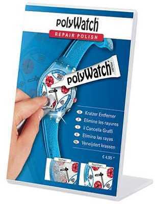 SALE-Polywatch Kit Watch Glass Scratch Remover Polish Acrylic Plastic Repair
