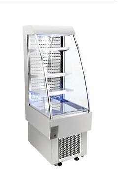 Omcan Rs-cn-0230 Open Air 8.1cf 24 Refrigerated Grab And Go Display Case New