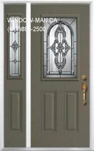 Front SideLite Entry Door  contemporary or traditional Design