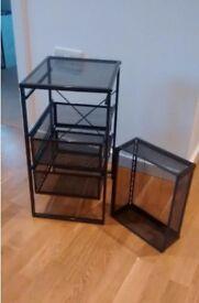 IKEA LENNART drawer unit, grey (used)