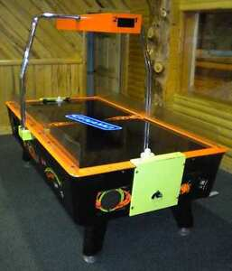Coin op arcade games air hockey