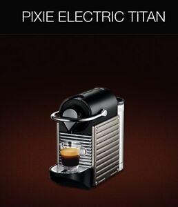 NESPRESSO TITAN COFFEE MACHINE  -BRAND NEW IN BOX -