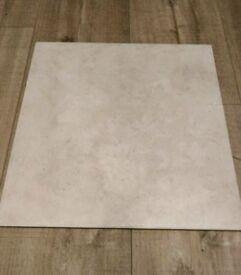 19 x Porcelain Floor Tiles 33 cm square