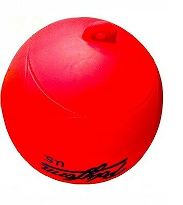"8"" VALUE PRICED MARKER BUOY RED JETSKI WAVERUNNER SEADOO BOAT MARINE RACING"