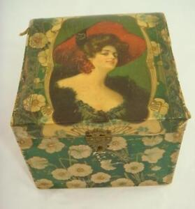 Beautiful-Antique-Victorian-Ladies-Woman-Celluloid-Collar-Box