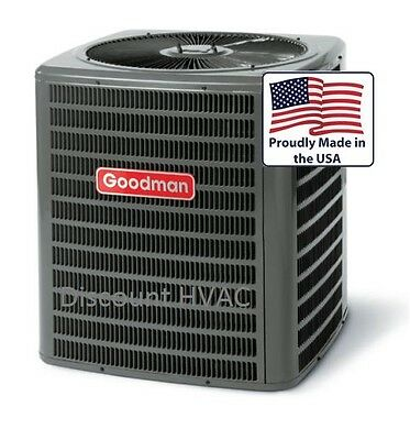 3.5 ton 13 SEER Goodman central AC unit air conditioning Con