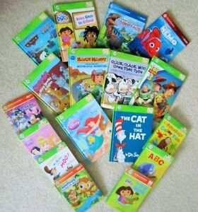 TAG Leapfrog  and Leap JR ..READERS  Collection .