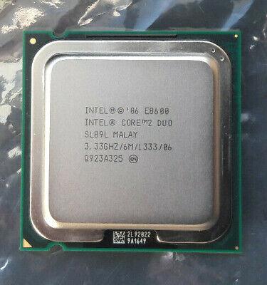 Intel Core 2 Duo E8600  SLB9L  3,33GHz CPU  Sockel 775