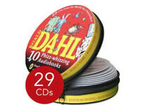 Roald Dahl Complete Classics Audio Book Collectors Tin Box 29 CD Set - New