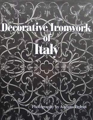 BOOK/LIVRE/BOEK/BUCH : ITALIAN IRONWORK/FER FORGE ITALIEN/ITALIAANS SMEEDIJZER