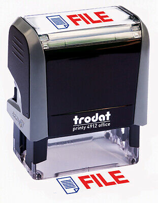 Trodat File Self Inking Rubber Stamp
