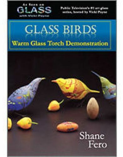 GLASS WITH VICKI PAYNE HOW TO CREATE FUSED GLASS BIRDS INSTRUCTIONAL DVD