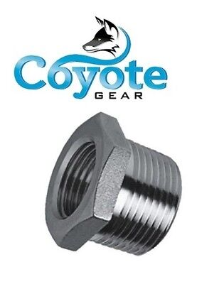 304 Ss 12 Male X 18 Female Npt Stainless Reducer Hex Bushing Coyote Gear