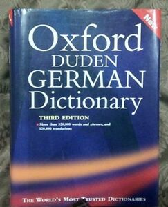 Oxford-Duden German Dictionary, 3rd Edition