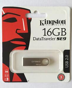 16GB-KINGSTON-DATATRAVELER-SE9-USB-2-0-FLASH-MEMORY-STICK-PEN-DRIVE-COMPUTER