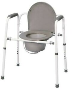 Commode toilet w adjustable height **brand new