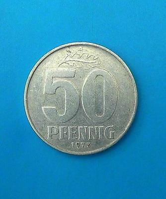 DDR 50 PFENNIG 1973 A