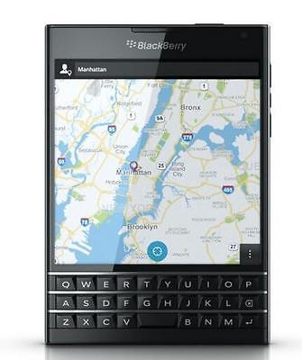 "BlackBerry Passport Q30 4G 32GB 4.5"" LTE QWERTY keyboard Smartphone Black"
