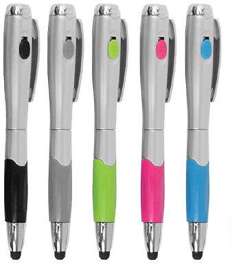 4pc 3 in 1 stylus tablet pen