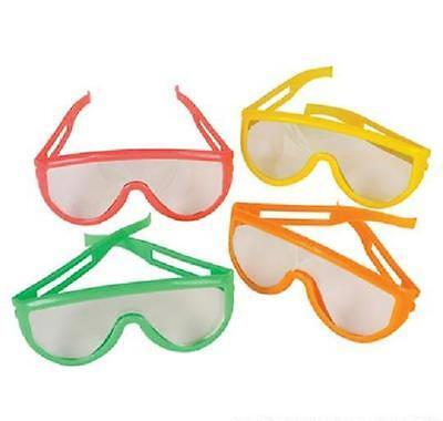 12 PAIRS NEON SUNGLASSES CHILDRENS KIDS Party Favor Luau #ST27 Free Shipping