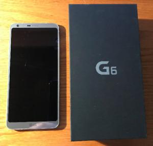 Cellulaire LG G6 neuf avec facture et débarré