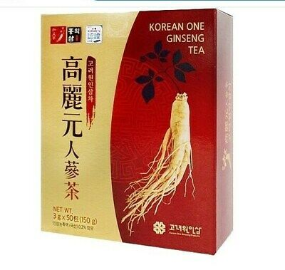 Korean one Ginseng Tea 3g x 100 bags healthy and anti fatigue made in Korea