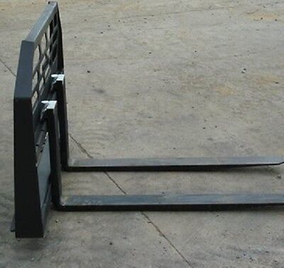 New Skid Steer Loader Tractor 48 Hd Pallet Forks Bobcat Case Cat1-12 Thick