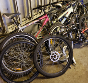 4 Bikes + Parts To Build 4 More Bikes