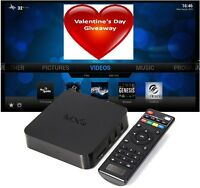 ON SALE - $65 BRAND NEW MXQ TV Box FULLY LOADED WATCH FOR FREE