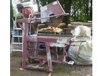 Honda, gx160 clipper table stone saw
