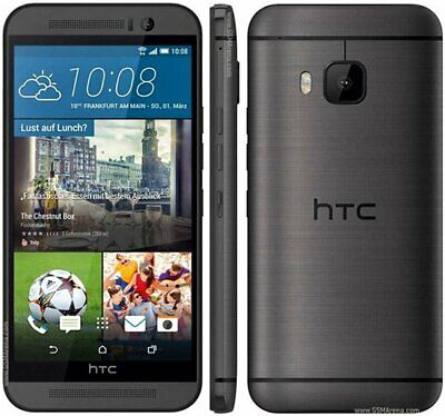 """New T-MOBILE HTC One M9 PLUS 5.2"""" 32GB - Sealed in Box Smartphone/Black/32GB"""