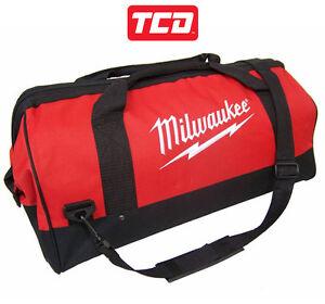 Milwaukee Bag - Large Canvas Contractor Bag - Power Tools Bag