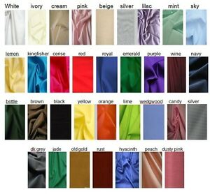 Anti-Static-Dress-Lining-Fabric-Material-150c-wide-Wedding-Prom-Dress-30-COLOURS