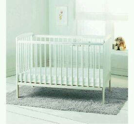 Kinder Valley Sydney Cot White With Free Mattress Brand New In Sealed Boxes 6 Plc