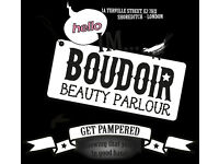 Part-Time Junior Beauty Therapist in Shoreditch Parlour