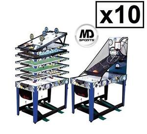 """10 MEDAL SPORTS 48"""" GAME TABLE 13-IN-1 COMBO GAME TABLE 104263266"""
