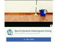 Becci's Dynamic Cleaning and Ironing