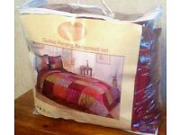 NEW Single Diane coupe Penang Quilted bed Spread 195 x 265cm £20