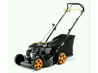 New McCullouch petrol lawnmower