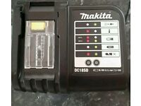 Makita DC18SD LXT Lithium Ion 18V Fast Battery Charger charges Makita batteries from 7.2V to 18V