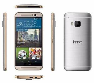 HTC One M9 GOLD/SILVER + accesories Fairfield Fairfield Area Preview
