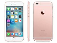 iPhone 6s Rose Gold 16gb brand new sealed unlocked.