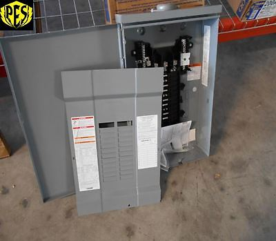 Nib Square D Qo320l125grb 125 Amp Three Phase Outdoor Load Center 20 Ckt Nema 3r