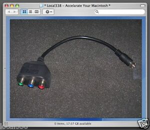 Brand-New-XFX-7-Pin-S-Video-to-3-RCA-RGB-TV-Component-HDTV-Adapter-PC-Cable