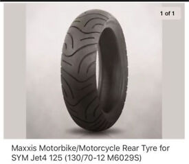 WANTED rear tyre