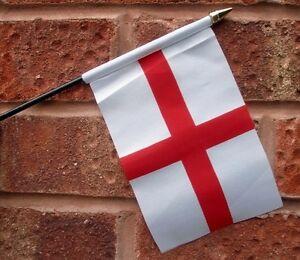 ENGLAND ST GEORGE HAND WAVING FLAG small 6