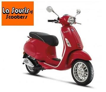 Sale! Vespa Sprint Rood | €3074,- of lease €2,10 per dag