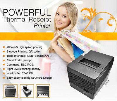 3nstar Thermal Receipt Printer Rpt008 Restaurant Usb Serial Ethernet Aldelo New