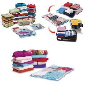6 bolsas 68x98 cm funda guarda ropa al vacio vestidos - Bolsas para guardar ropa al vacio ikea ...