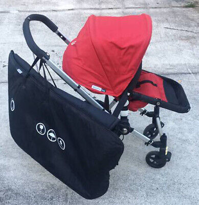 Bugaboo Frog Stroller with Carrying Case and Accessories